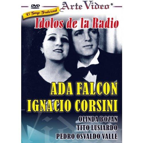 idolos de la radio - ada. falcón - i.corsini - dvd original