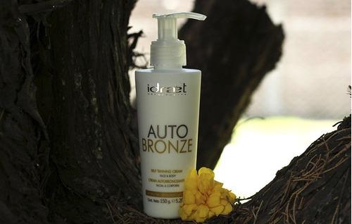 idraet autobronze crema bronceadora antiage