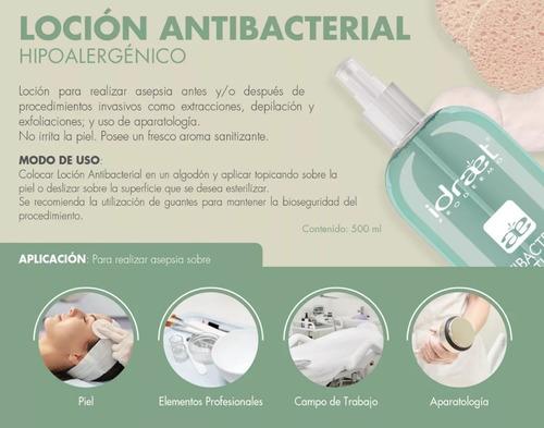 idraet locion antibacterial desinfectante asepcia 500ml