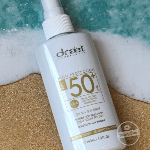 idraet protector solar 50 spray hidratante facial corporal
