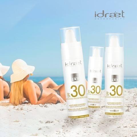 idraet protector solar hidratante 30 emulsion