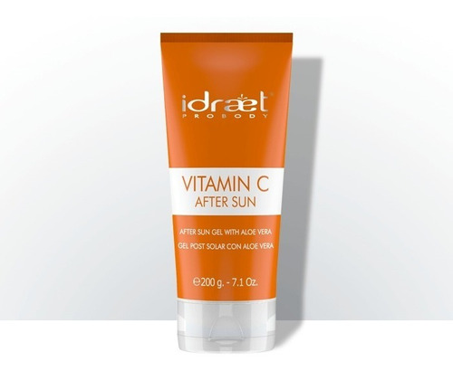 idraet vitamina c after sun gel post solar hidratante