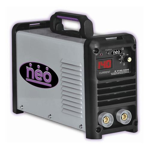 ie9140/220m - soldadora inverter electrodo 140amp neo