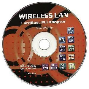ieee 802.11g wireless cardbus adapter notebook wifi arb