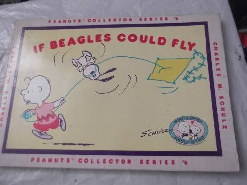 if beagles could fly charlie brown comic 6 en ingles schulz