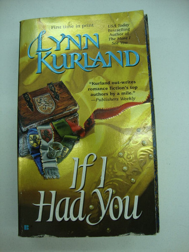 if i had you - lynn kurland - libro en ingles