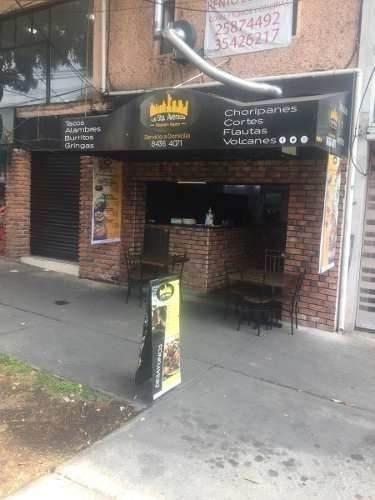 if renta y traspaso de restaurante giro taqueria