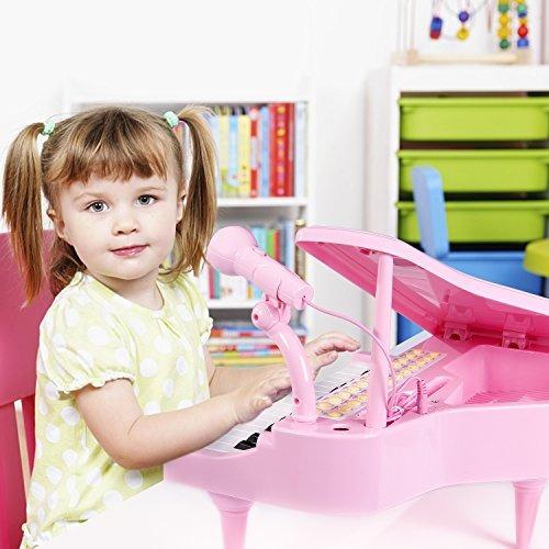 ifixer 31 teclas piano teclado juguete para niñas pequeños n