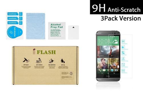 iflash® 3 pack de protector de pantalla de vi + envio gratis
