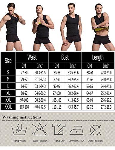 c7f34e6a52 Iflove Sweat Vest For Men Weight Loss Ne Tamaño Us Size -   181.449 ...