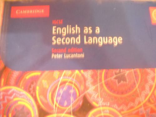 igcse - english as a second language - incluye cd