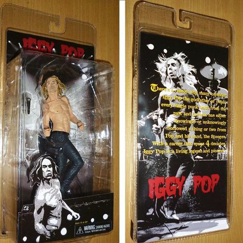 iggy pop / figura 18cm / the stooges / neca
