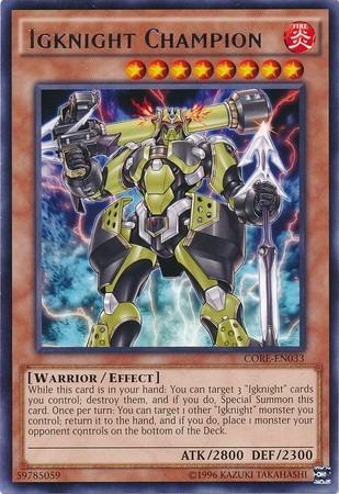 igknight champion - core-en033 - rare unlimited