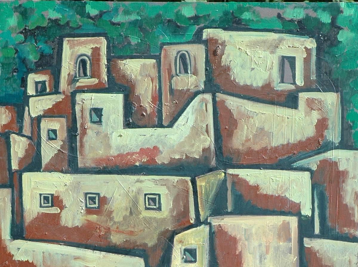 Ignacio ortiz pintura oleo paisaje guanajuato de dia 2001 - Donde estudiar pintura ...