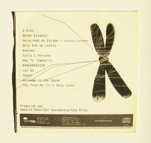 ignacio peña anormal cd sampler importado card sleeve 2004