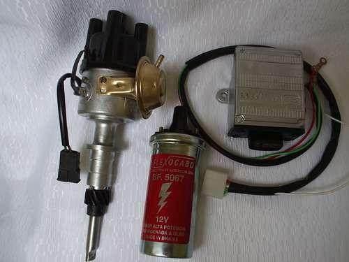 igniçao eletronica c10-c14-motor 261 com peças bosch..