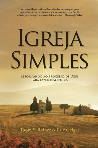 igreja  simples - livro editora palavra