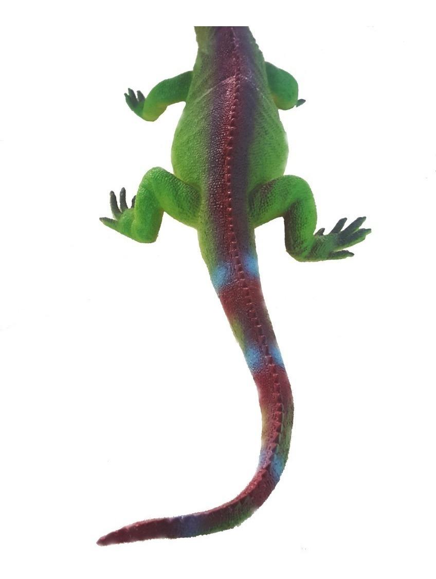 Cola Goma Iguana Juguete 40cm Ver De Video EspinosaReptil EDH9YW2I