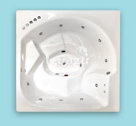 iguazu hidromasajes minipiscina195x195x74 12jets+2cervicales