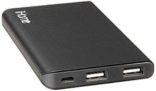 ihome batería portátil para smartphones universales gris