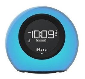 Ihome - Bluetooth Fm Y Alarma Doble Radio Reloj - Negro
