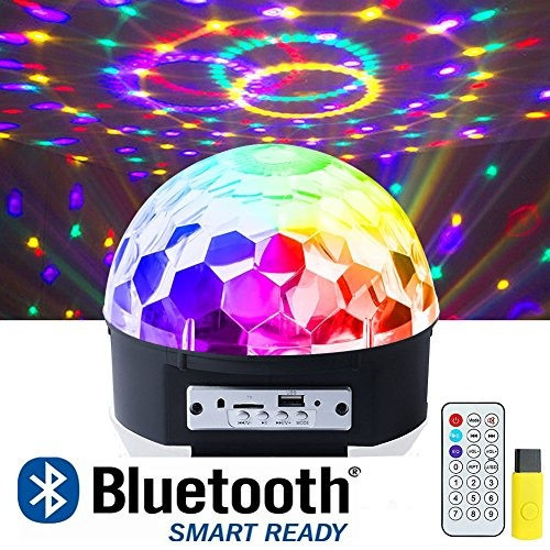 Ihoven disco ball party lights 9 colores giratorio led d ihoven disco ball party lights 9 colores giratorio led d aloadofball Images