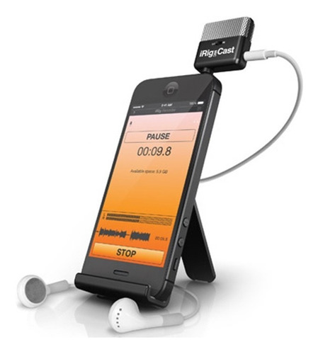 ik multimedia interface irig mic cast musical store(oficial)