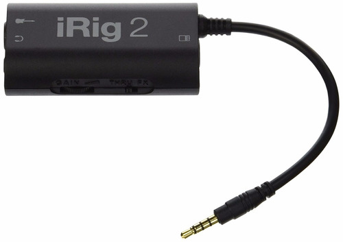 ik multimedia irig 2 guitar interface adapter + envío gratis