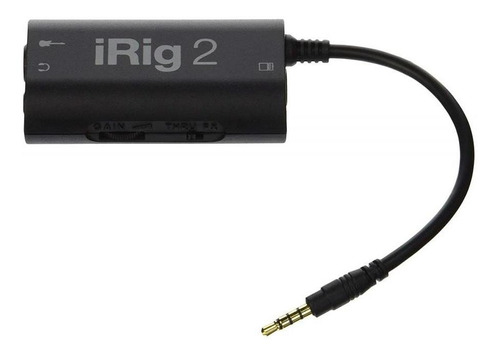 ik multimedia irig2 interface de audio portatil instrumentos