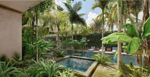 ikal tulum, departamento con terraza en venta