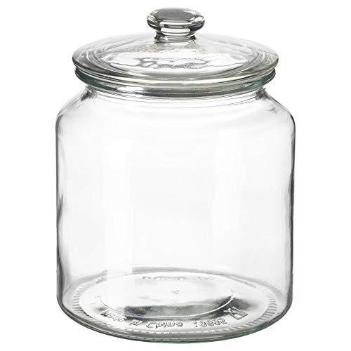 ikea 002.919.28 todos los días frasco con tapa, vidrio tra