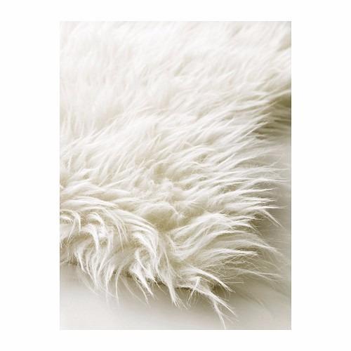 ikea - alfombra de piel de oveja sueca tejn by dahlman