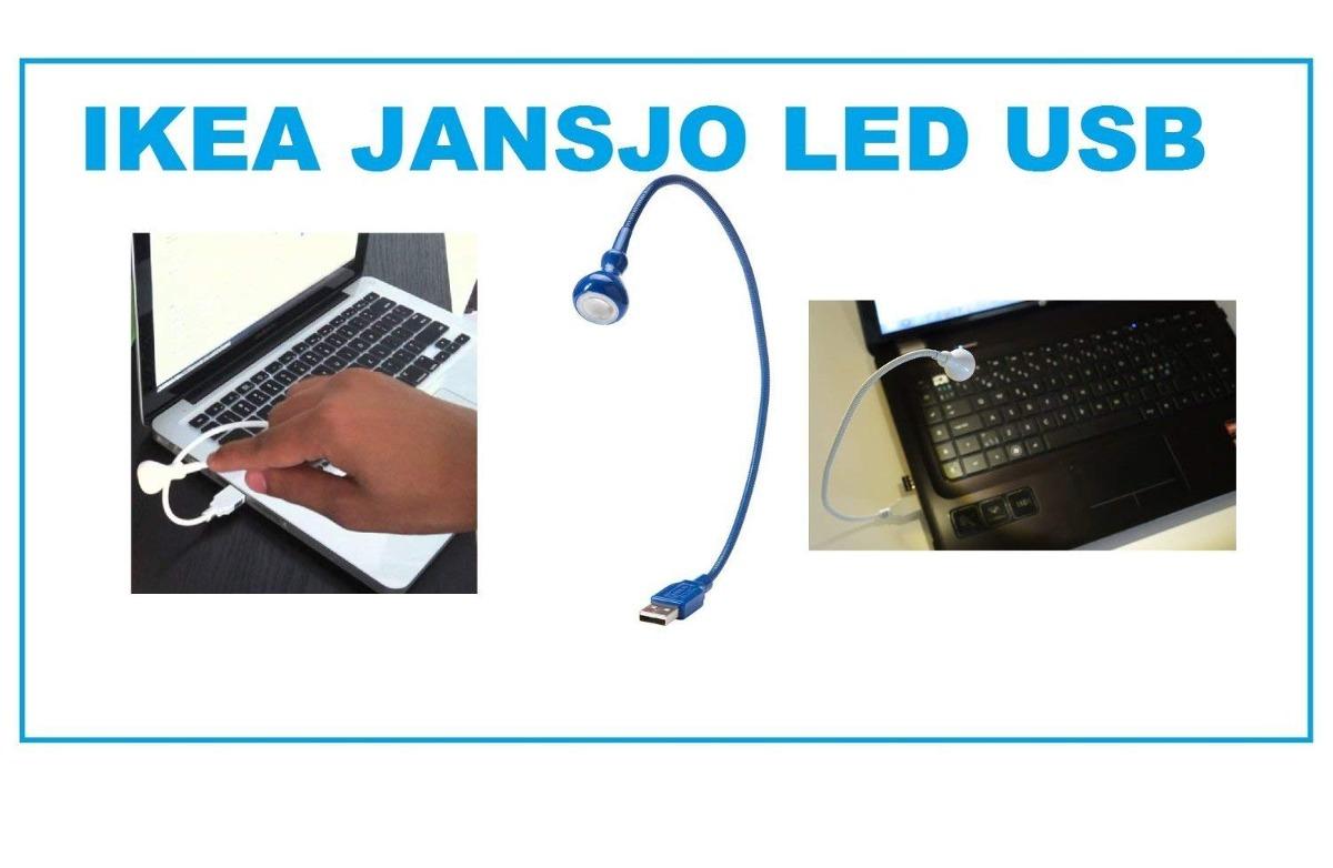 Luz Led De Azul Jansjo Ikea Usb Lámpara tsQrCdh