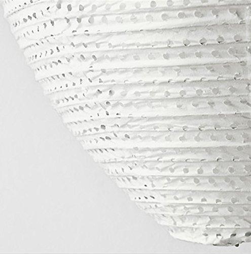 Oval 19 Ikea Colgante Lampara De Shade Papel Arroz White mw8nNvy0O