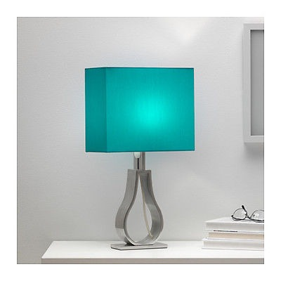 Mesa Marrónturquoise Lámpara Luz Moderna Ikea clFJKT1