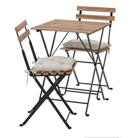 1 Sillas Caja Y IkeaNueva De En 2 Mesa Jardín68 BedQCxorW