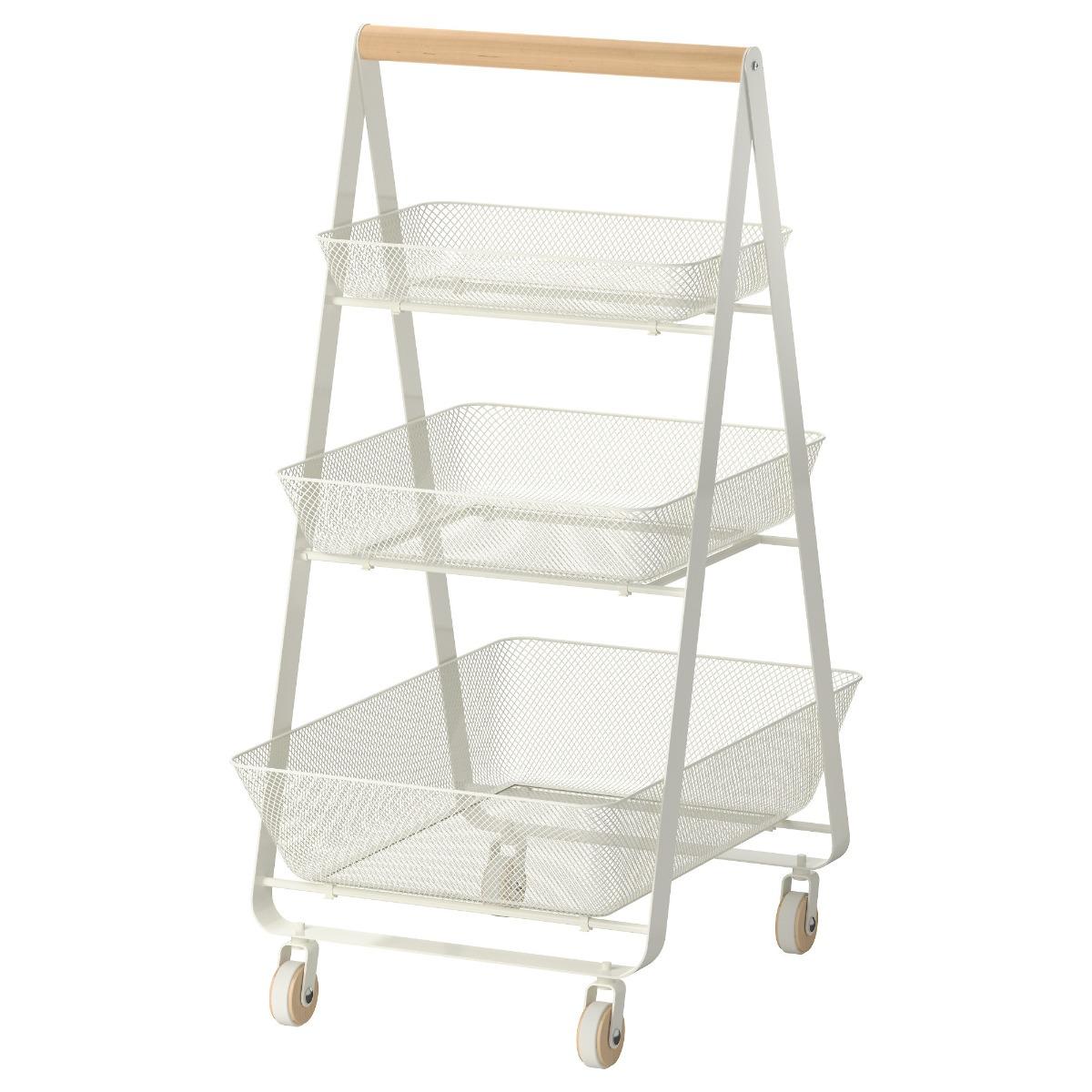 Ikea Risatorp Carrito De Cocina 2 100 00 En Mercado Libre # Muebles Vestibulo Ikea