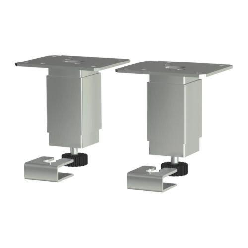 Ikea Utby Mesa De Cocina Pierna 4 Ancla De Acero Ajustable ...