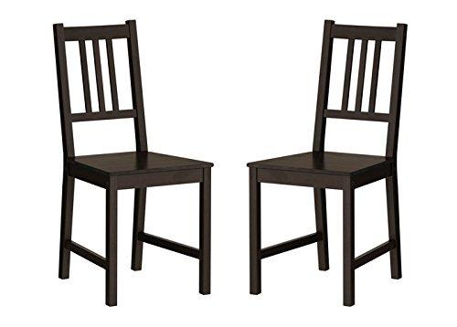 Ikea Wood Chairs Dining Room Cocina Comedor 2 Sillas - $ 7,074.77 en ...