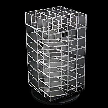 ikee design premium acrílico giratorio de 64 barras de lab
