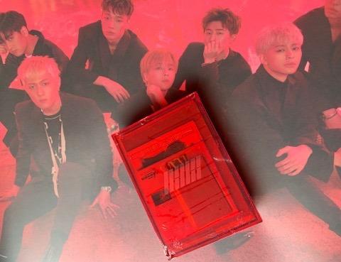 Ikon - New Kids Repackage Album Red Ver  + Poster Oficial