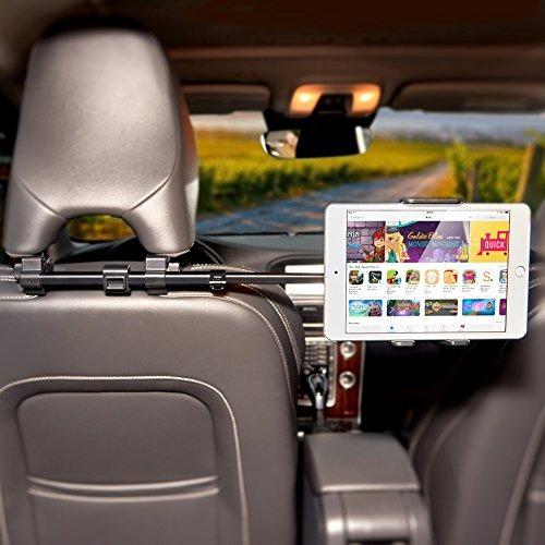ikross car headrest cradle mount holder con extensión cent