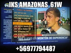 Iks Privado Amazonas Conax Y Nagra 100% Estables