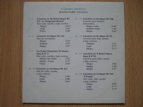 il giardino armonico - antonio vivaldi : conciertos