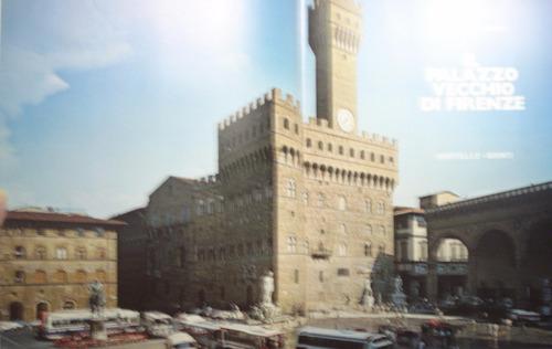 il palazzo vecchio di firenze, de giulio lensi - en italiano