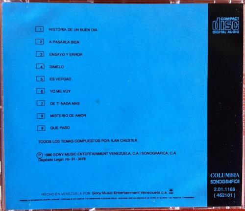 ilan chester. cd original, usado