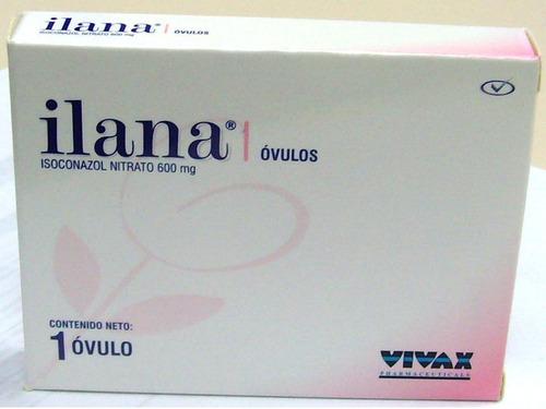 ilana isoconazol ovulo vaginal 600 mg por 3 unidades