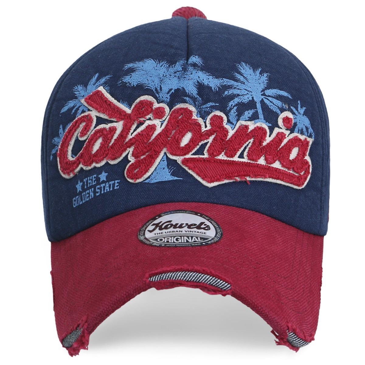 d9c64747 Ililily Vintage California Patch Hat - A Pedido_exkarg - $ 2.700,00 ...