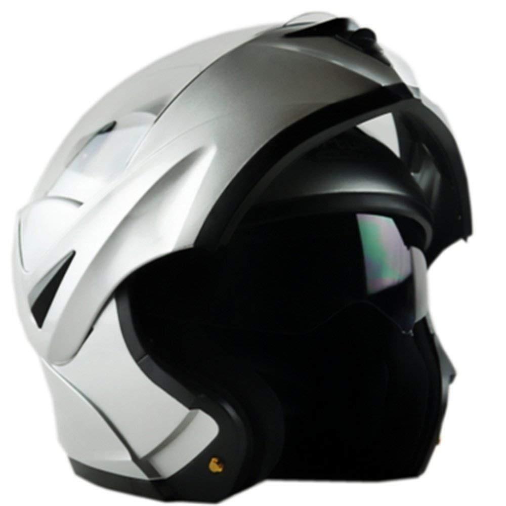 d64b0e6eff104 Ilm 10 Colores Motocicleta Flip Up Casco Modular Dot (m