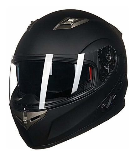 ilm bluetooth integrado modular flip up casco